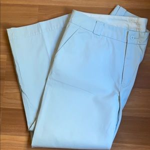 Gap Light Blue Chino Ankle Pant / Size 16 Long